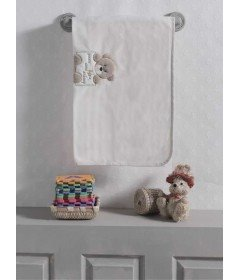 Плед флисовый Kidboo Honey Bear Linen