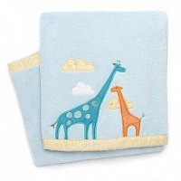 Плюшевый плед Skip Hop Nursury Plush Blanket Giraffe Safari